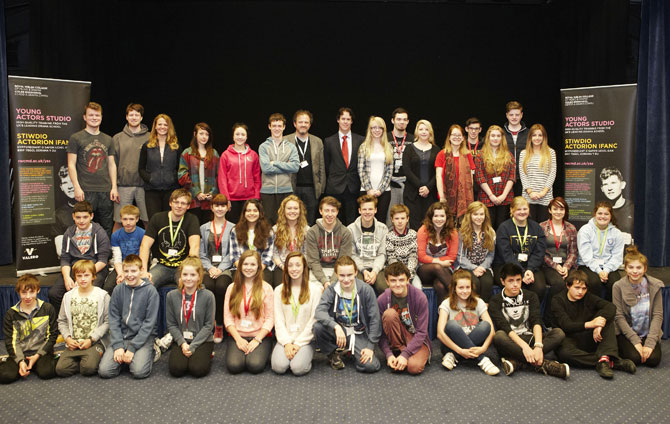 The class of 2014-15, Young Actors Studio, Pembrokeshire