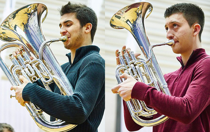 Young Brass Musician