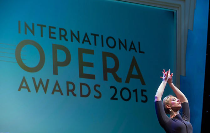 Graduate Justina Gringyte is named Young Singer of the Year at the International Opera Awards