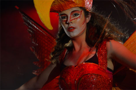 Wearable Art Show RWCMD Firebird
