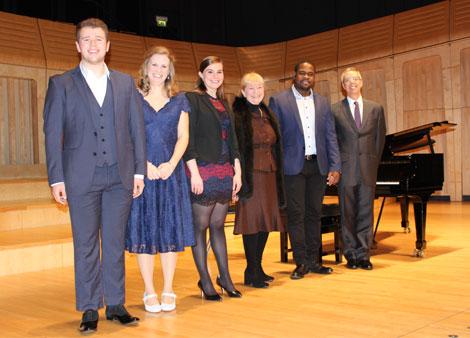 Janet Price Opera Prize competitors
