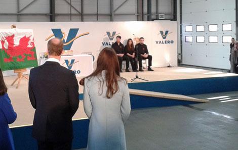 Valero William Kate visit