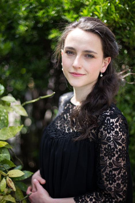Anne Denholm, official harpist to HRH The Prince of Wales. Credit Timothy Ellis