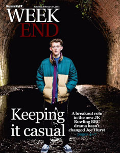 The Western Mail's feature on Joe's first leading role