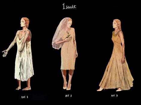 April's Costume Design's for Iseult
