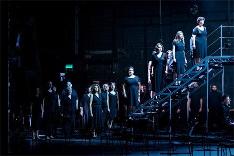 The Chorus. Photo credit: Robert Workman