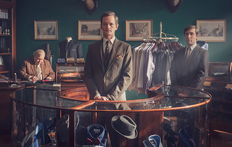 Callum with Neil Patrick Harris in It's A Sin. Credit: Channel 4